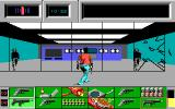 Die Hard DOS Running from crooks and flying glass in the computer room. (EGA)
