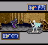 Shining Force II Genesis Galam mage attacks