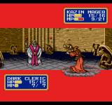 Shining Force II Genesis Kazin casts spell