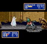 Shining Force II Genesis Next battle, some easy enemies