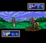 Shining Force II Genesis May is a ranger, witch attack in close combat