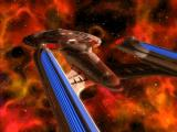 Star Trek: Hidden Evil Windows Sovereign class ship.