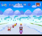 WakuWaku Ski Wonder Spur SNES Starting a race