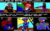 The Ancient Art of War at Sea DOS Choose your opponent / Prepare for War! (EGA/Tandy)