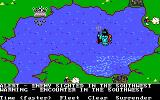 The Ancient Art of War at Sea DOS Alert & Warning / Campaign:You only live Thrice (EGA/Tandy)