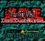 Yu-Gi-Oh! Dark Duel Stories Game Boy Color Dark Duel Stories