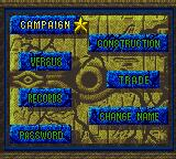 Yu-Gi-Oh!: Dark Duel Stories Game Boy Color Decide what you want to do at the main menu