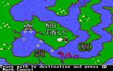 The Ancient Art of War at Sea DOS Trace path to destination / Campaign:Attack of the Superpower (EGA/Tandy)