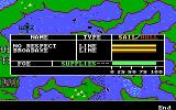The Ancient Art of War at Sea DOS Info of Enemy / Campaign:Attack of the Superpower (EGA/Tandy)