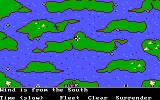 The Ancient Art of War at Sea DOS Wind is from the South / Campaign:The Race for the Crown (EGA/Tandy)