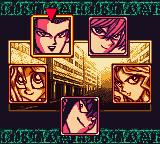 Yu-Gi-Oh! Dark Duel Stories Game Boy Color In campaign mode, choose your opponent to battle