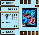 Yu-Gi-Oh! Dark Duel Stories Game Boy Color Battling your opponent