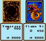 Yu-Gi-Oh! Dark Duel Stories Game Boy Color The attack... looks like your opponent lost this one
