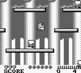 Bubble Bobble: Part 2 Game Boy Jumping and bobbling