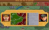 The Ancient Art of War in the Skies DOS Start game - 1914 Conquest of Belguim