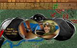 The Ancient Art of War in the Skies DOS Pilot info & menu