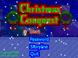 Christmas Conquest 1 Windows Main menu