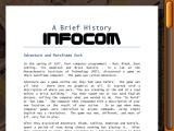 Lost Treasures of Infocom iPad Also includes Infocom history/background