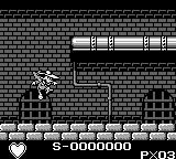 Darkwing Duck Game Boy In the sewers