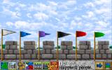 Lords of the Realm Amiga The flags indicate which players are the best in the selected area.