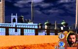 Lands of Lore: Guardians of Destiny DOS Nice view over the City of Ancients