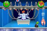 Spy Muppets: License to Croak Game Boy Advance Boss with mechanical claws.