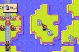 Advance Wars Game Boy Advance Helicopter on island.