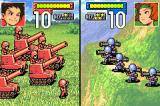 Advance Wars Game Boy Advance Mountains give bonuses to defense.