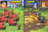 Advance Wars Game Boy Advance Artillery massacre infantry units.