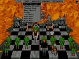 Terminator 2: Judgment Day - Chess Wars DOS Part of the Menus