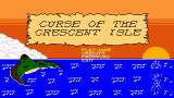 Curse of the Crescent Isle Xbox 360 Title screen.