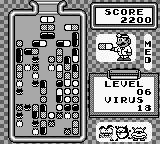 Dr. Mario Game Boy I guess it's loosing again.