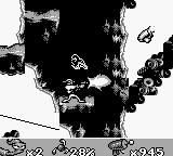 Earthworm Jim Game Boy Shooting