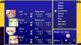 Final Fantasy IV: The Complete Collection PSP The After Years: Bottom right corner shows how the current moon phase affects your abilities