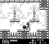 Castlevania Legends Game Boy The boss leaves an orb with a Soul weapon