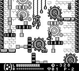 Castlevania Legends Game Boy Stage 3: A nasty enemy and gears