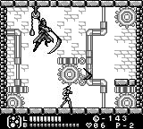 Castlevania Legends Game Boy Stage 3: It's Death, and it's a surprisingly easy boss