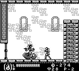 Castlevania Legends Game Boy Stage 4: Medusa is midboss here