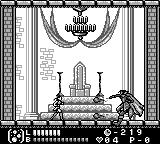 Castlevania Legends Game Boy And then he attacks!