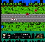 Ghostbusters II NES More driving this time near giant red spheres