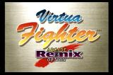 Virtua Fighter Remix SEGA Saturn Main menu