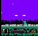 Ghostbusters II NES Fighting ghosts and weather in New York with Lady Liberty