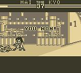 The King of Fighters '95 Game Boy You won!