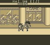 The King of Fighters '95 Game Boy Mai Vs Eiji
