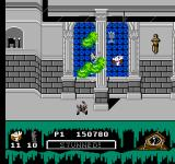 Ghostbusters II NES In these final levels, the ghosts really gang up.