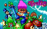 Trolls DOS Title screen (EGA)
