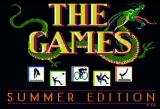 The Games: Summer Edition Apple II Title screen