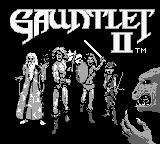 Gauntlet II Game Boy Title screen