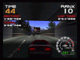 Ridge Racer 64 Nintendo 64 End of tunnel