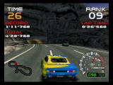 Ridge Racer 64 Nintendo 64 Chase in the mountains